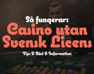 casino utan licens